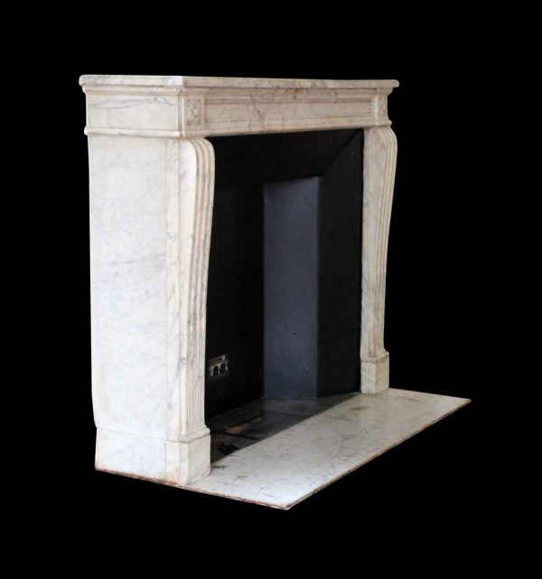Waldorf Astoria - Waldorf Astoria French Regency Louis XVI Carrara Marble Mantel