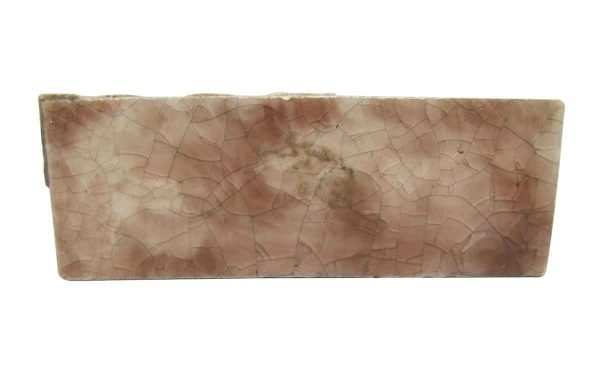 Wall Tiles - Antique 4.25 in. Mixed Pink Crackled Tiles