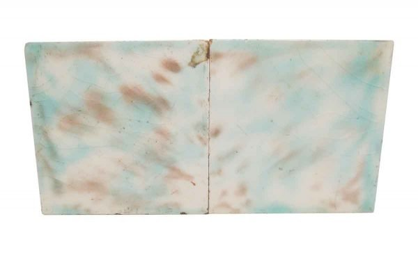 Wall Tiles - Antique Blue & Brown Mixed 4.375 in. Square Tiles