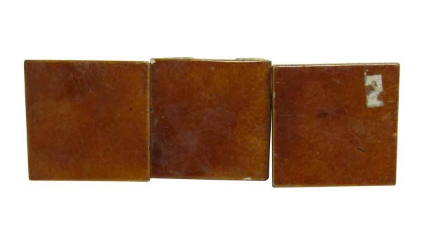 Wall Tiles - Antique Light Brown 3 in. Square Tiles