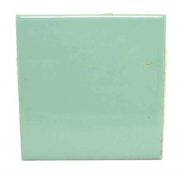 Wall Tiles - Vintage 4.25 in. Muted Green Square Wall Tile