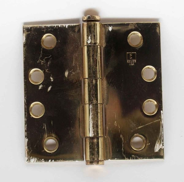 Door Hinges - Vintage Brass Hager Hinge
