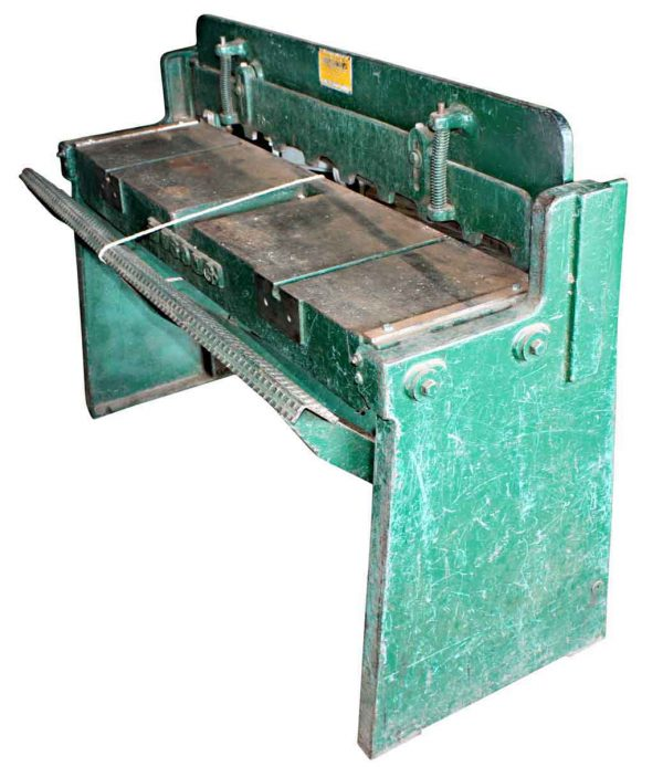 Machinery - Wysong and Miles Co. Foot Shear