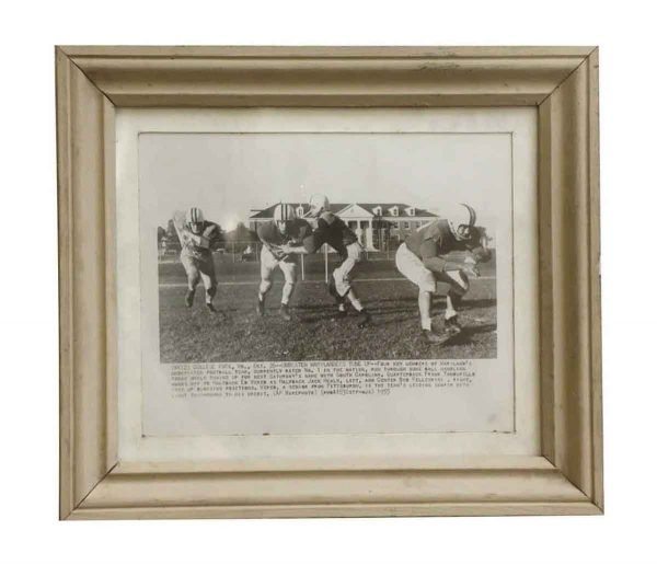 Photographs - College Park Football Photo with Frame