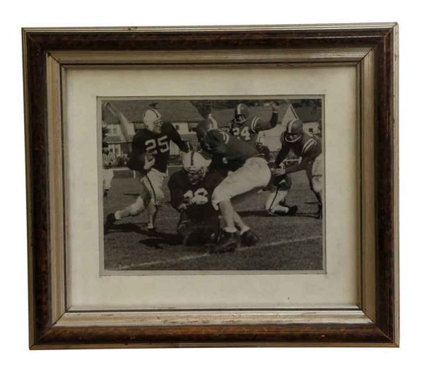 Photographs - Metal Framed College Football Photograph