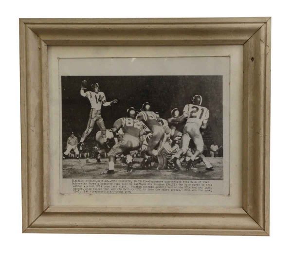 Photographs - Vintage Maryland College Football Photo in Wood Frame