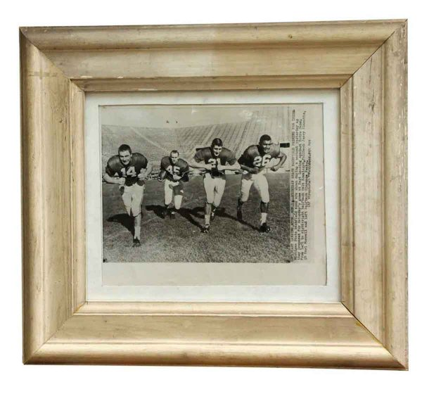 Photographs - Vintage Michigan State Football Practice Photograph