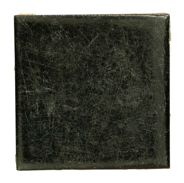 Wall Tiles - Antique Shiny 4.25 in. Black Tile