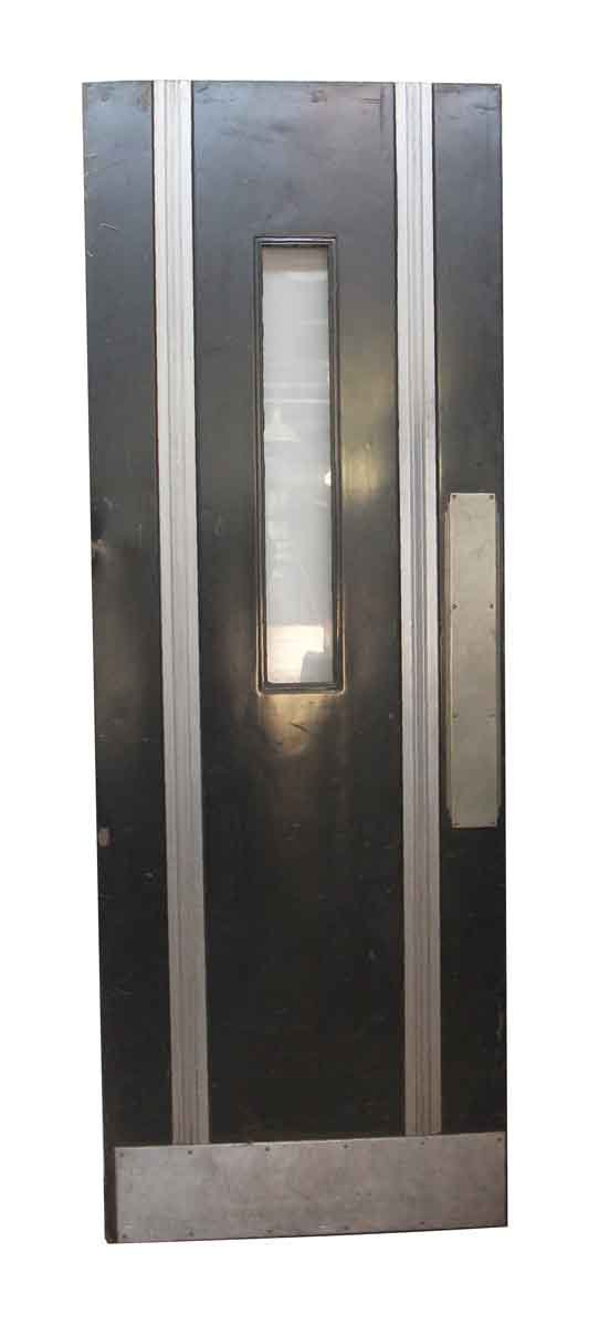 Commercial Doors - Reclaimed Art Deco Metal Door