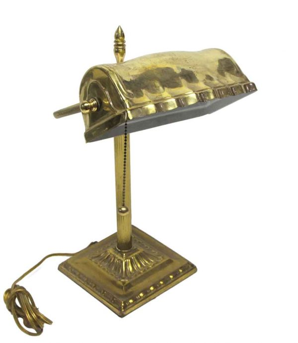 Desk Lamps - Polished Brass Adjustable Table Lamp