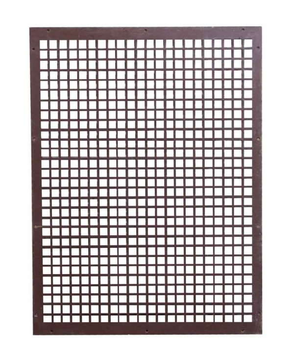 Exterior Materials - Cast Iron Salvaged Grate