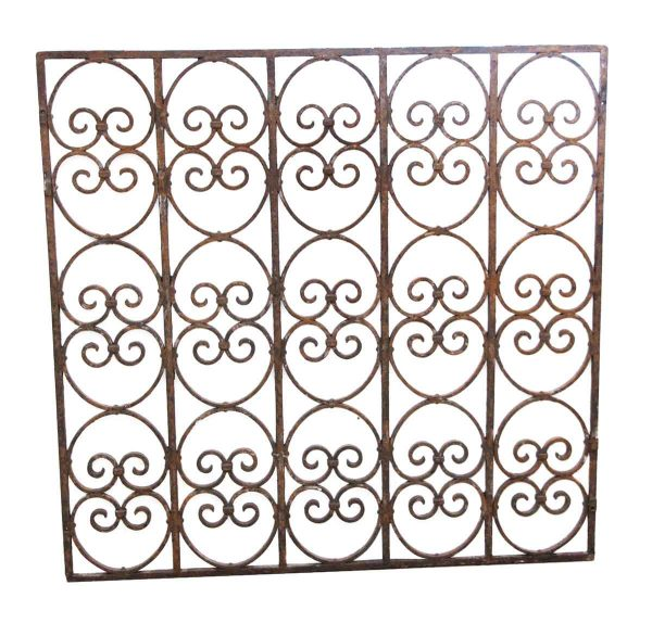 Gates - Wrought Iron Rusted Gate Piece