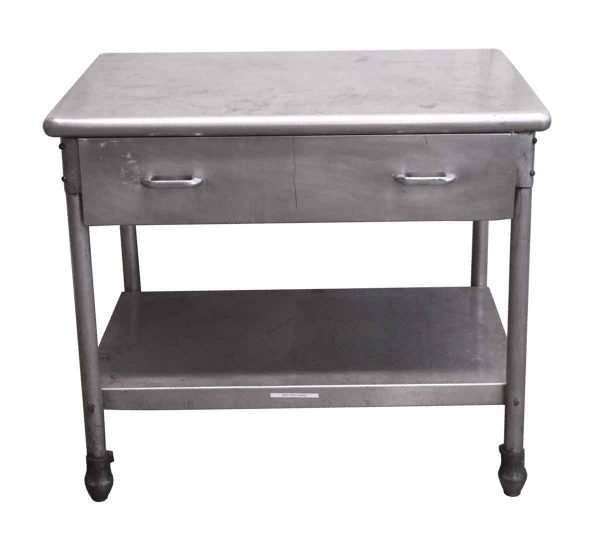 Kitchen - Reclaimed Industrial Commercial Steel Table