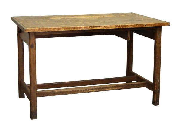 Office Furniture - Salvaged Wood Work Table