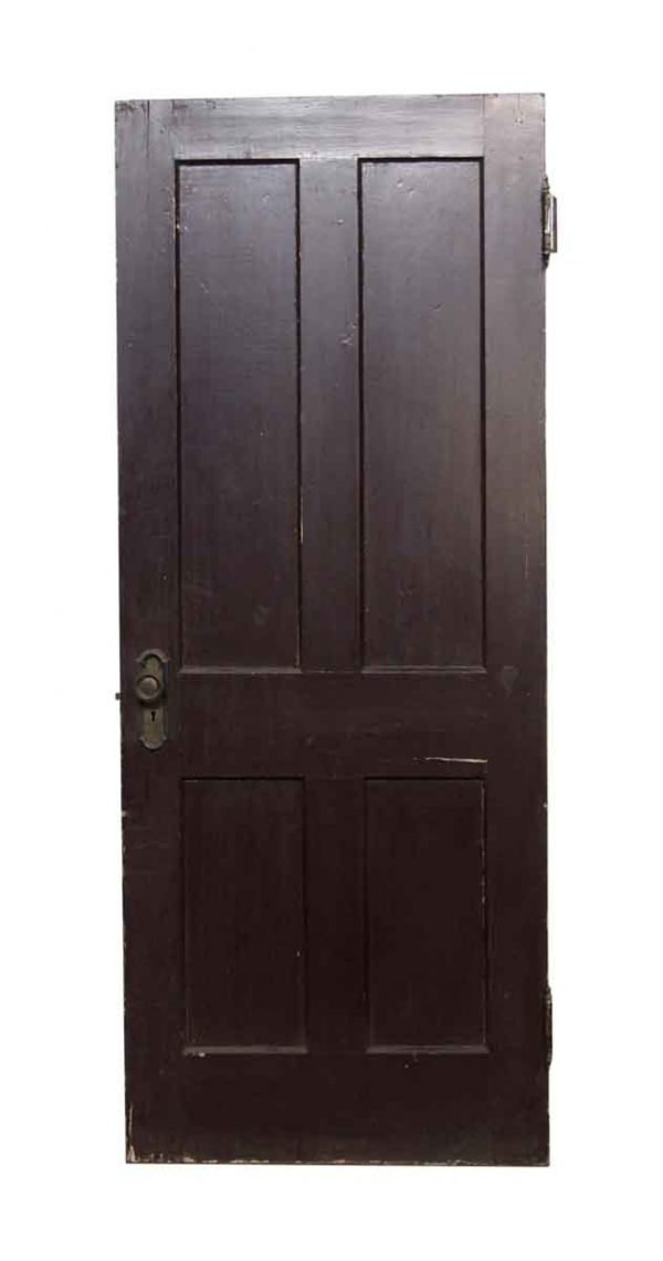Standard Doors - 4 Panel Painted Brown Door