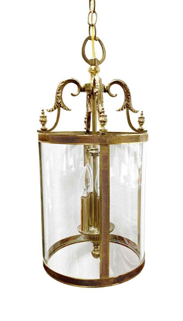 Wall & Ceiling Lanterns - Cast Brass Italian Lantern with Five Lights