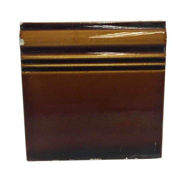 Bull Nose & Cap Tiles - Brown Baseboard Tile P261783