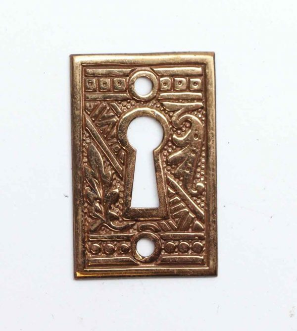 Keyhole Covers - Aesthetic Ornate Brass Keyhole Cover