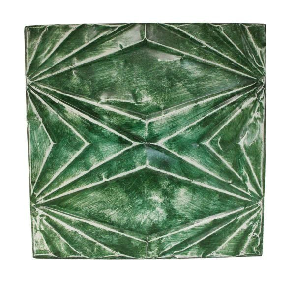 Tin Panels - Green Deco Tin Panel