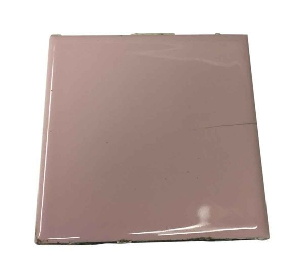 Wall Tiles - 4.25 in. Pink Bathroom Tile