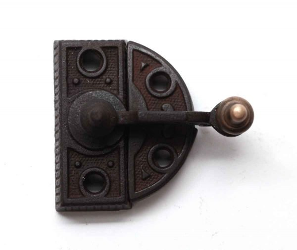 Window Hardware - High Profile Cast Iron & Bronze Window Lock