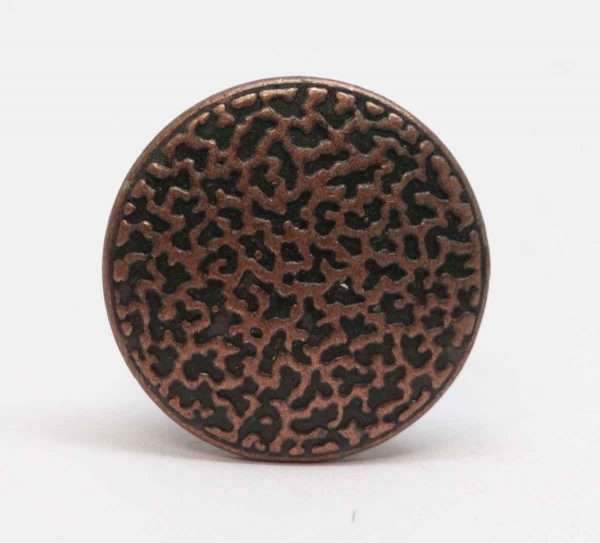 Cabinet & Furniture Knobs - 1.375 in. Brass Textured Cabinet Knob