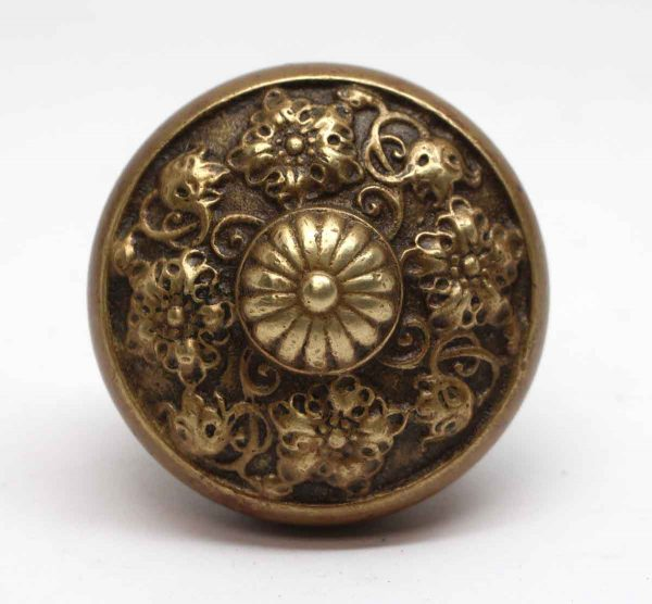 Door Knobs - Brass 4 Fold Lockwood Sienna Door Knob