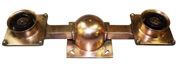 Industrial & Commercial - 1920s New York City Copper Subway Light