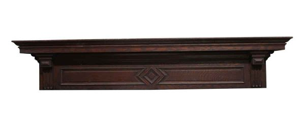 Moldings - 74.5 in. Header with Diamond Motif from Rose Hill