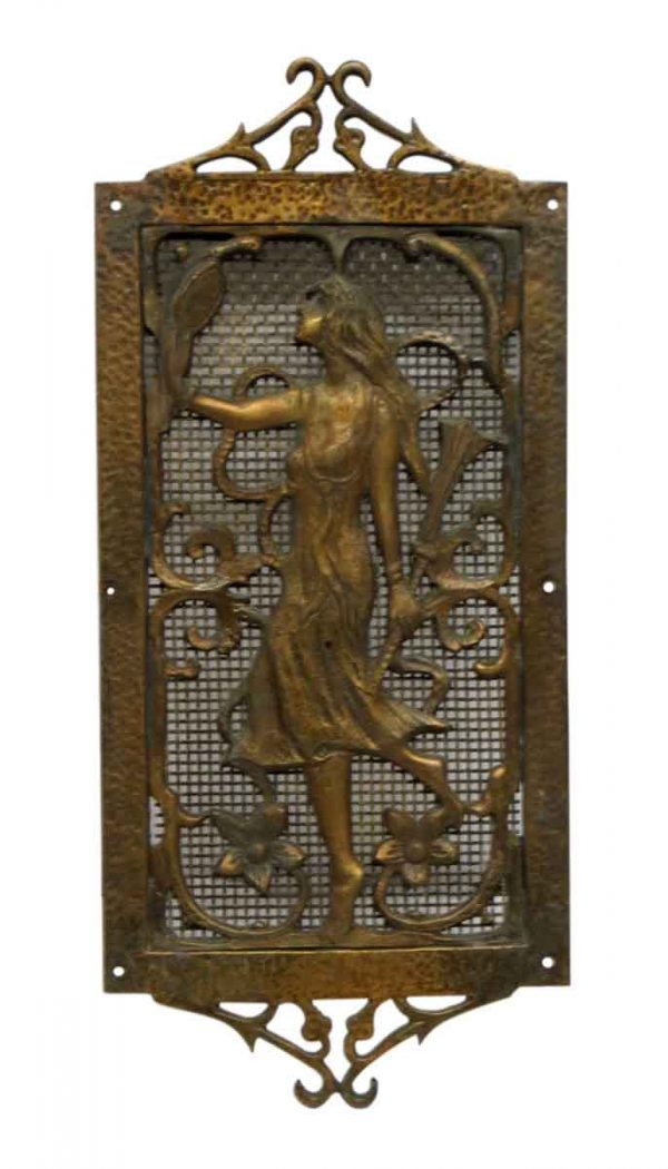 Other Wall Art  - Antique Bronze Figural Plaque