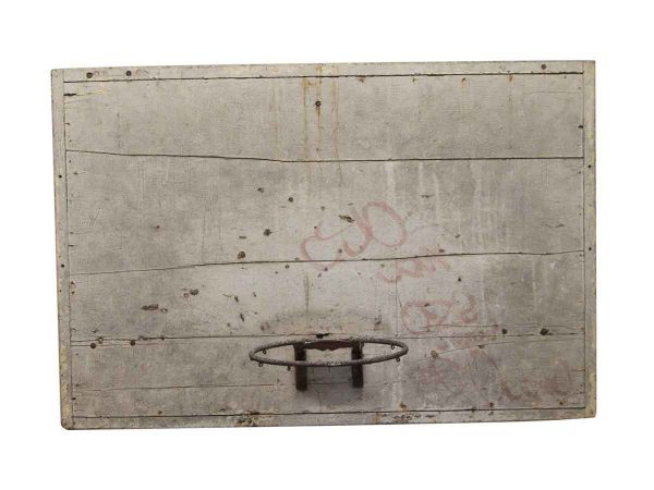 Sporting Goods - Early 20th Century Basketball Hoop with Backboard