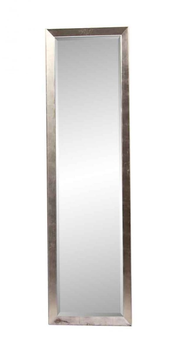 Antique Mirrors - 8 ft Tall Narrow Beveled Floor Mirror