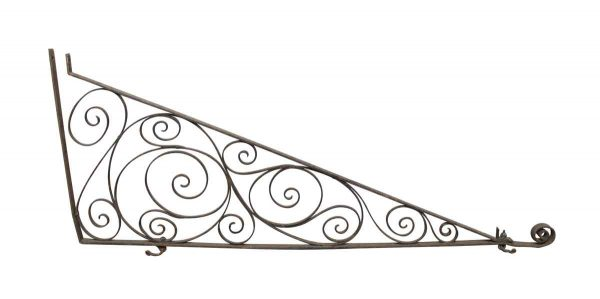 Balconies & Window Guards - Ornate Vintage Wrought Iron Bracket