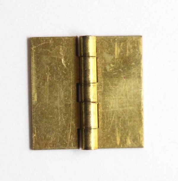 Cabinet & Furniture Hinges - Brass 1 x 1 Butt Blank Cabinet Hinge