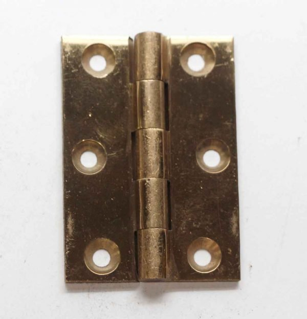 Cabinet & Furniture Hinges - Brass 2.5 x 1.75 Butt Cabinet Hinge