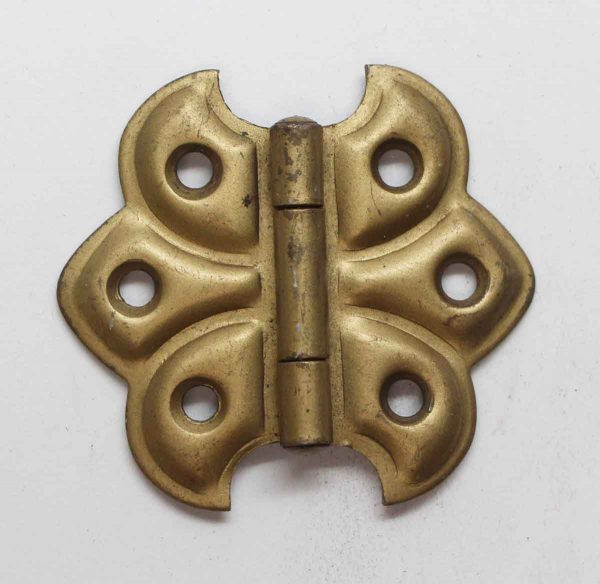 Cabinet & Furniture Hinges - Brass Plated Steel Butterfly Cabinet Hinge