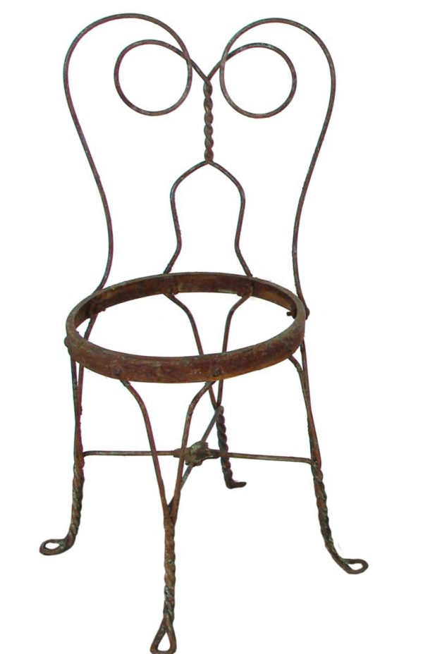 Commercial Furniture - Wrought Iron Ice Cream Parlor Chair