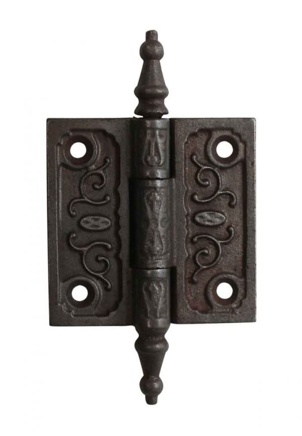 Door Hinges - 2.5 x 2.5 Victorian Cast Iron Butt Door Hinge