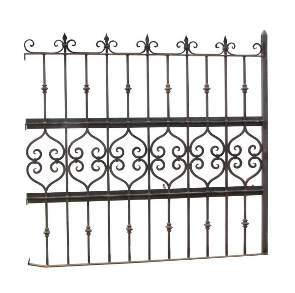 Gates - Salvaged Wrought Iron Gate