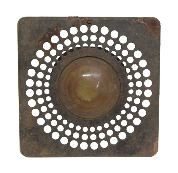 Industrial & Commercial - Antique Telephone Booth Overhead Light Lens Cover