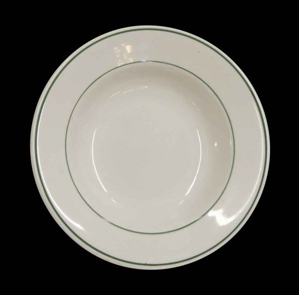 Kitchen - Buffalo China Green & White 9.25 in. Dinner Plate