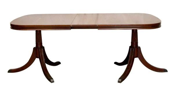 Kitchen & Dining - Duncan Phyfe Extendable Dining Room Table