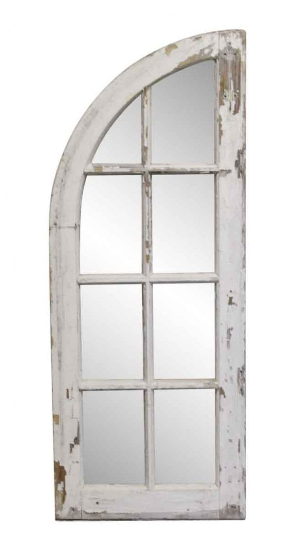 Reclaimed Windows - Wood Framed Single Arched Window from Rose Hill