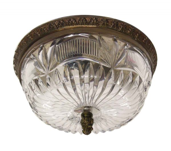 Waldorf Astoria - Waldorf Astoria 9.5 in. Crystal Flush Mount Fixture