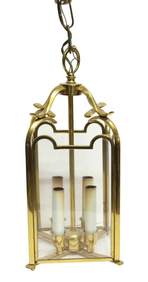 Waldorf Astoria - Waldorf Astoria Hanging Polished Brass Lantern