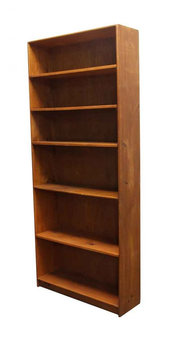 Bookcases - Reclaimed Tall Wooden Bookcase