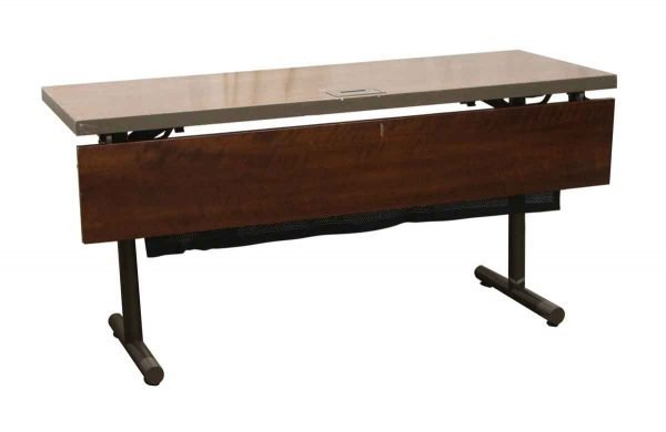 Commercial Furniture - Reclaimed Fold Up Banquet or Computer Table