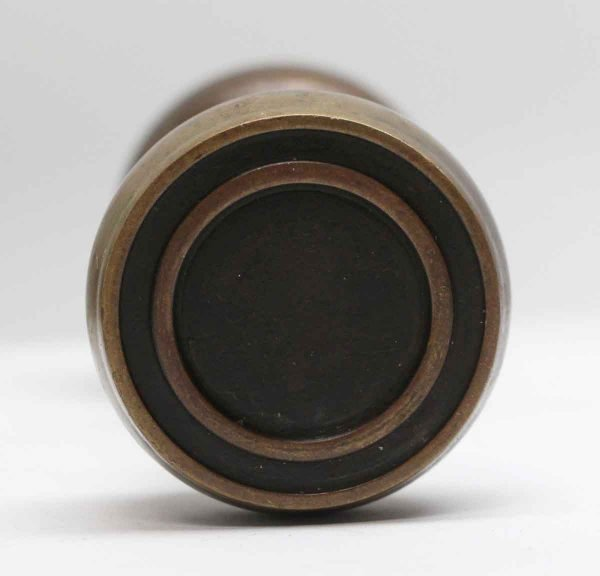 Door Knobs - Pair of Brass Antique Concentric Door Knobs