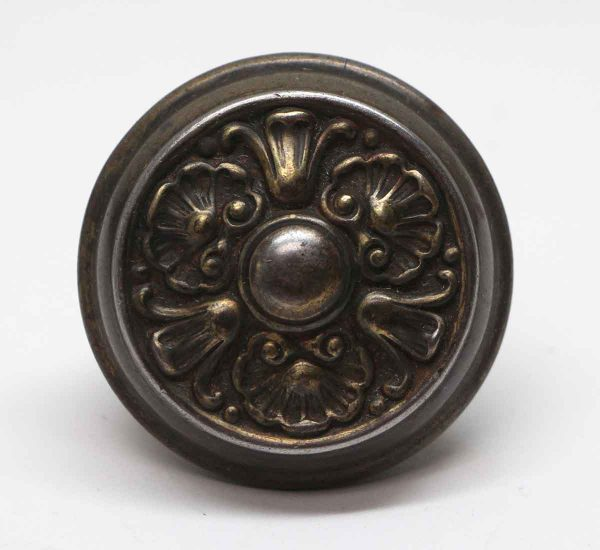 Door Knobs - Steel 3 Fold Antique Door Knob
