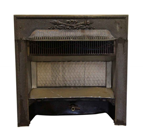 Heating Elements - Brass over cast iron Victorian Fireplace Furnace